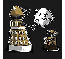 Are you my mummy? - GOLD version Photographic Print