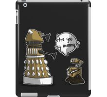Are you my mummy? - GOLD version iPad Case/Skin