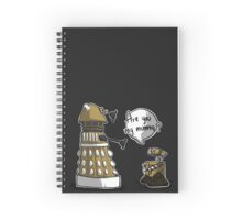 Are you my mummy? - GOLD version Spiral Notebook