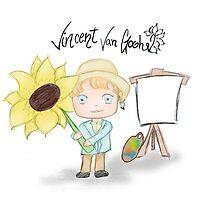 Vincent Van Gogh by liajung