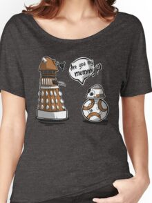 Are you my mummy? - ORANGE version Women's Relaxed Fit T-Shirt