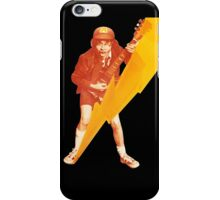 ACDC Angus Young Guitar iPhone Case/Skin