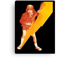 ACDC Angus Young Guitar Canvas Print