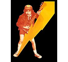 ACDC Angus Young Guitar Photographic Print