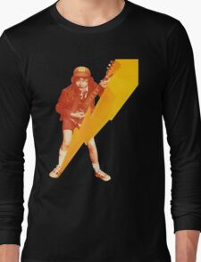 ACDC Angus Young Guitar Long Sleeve T-Shirt