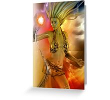 SOLAR CELL ELECTRIC Greeting Card