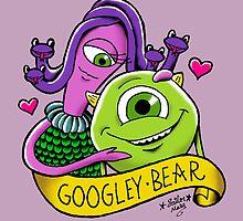 Googley Bear by Cheyne Gallarde