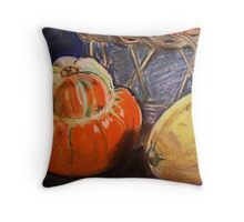 Squash - card Throw Pillow