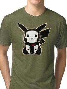 Skel-pika Tri-blend T-Shirt