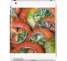 Wheels - or pumpkins iPad Case/Skin
