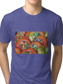 Wheels - or pumpkins Tri-blend T-Shirt