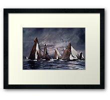 Sea Symphony....... Framed Print