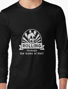 ROLLING through the Gates of Hell! (Murray - Monkey Island 3) Long Sleeve T-Shirt