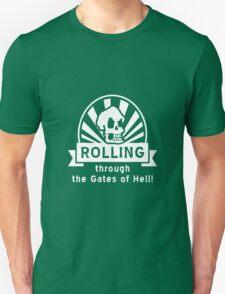 ROLLING through the Gates of Hell! (Murray - Monkey Island 3) Unisex T-Shirt