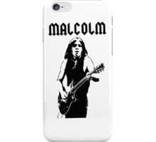 ACDC Malcolm Young Guitar iPhone Case/Skin