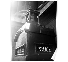 Police Telephone Box, City of London Poster
