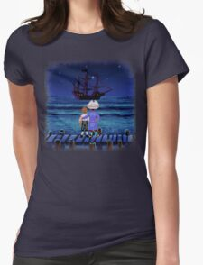 Guybrush & Stan (Monkey Island) Womens Fitted T-Shirt