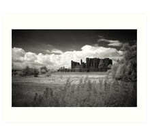 Kenilworth Castle, Warwickshire, UK Art Print