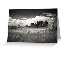 Kenilworth Castle, Warwickshire, UK Greeting Card
