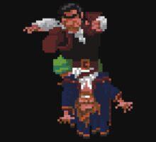Largo LaGrande and Guybrush (Monkey Island 2) One Piece - Short Sleeve