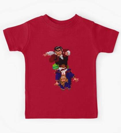 Largo LaGrande and Guybrush (Monkey Island 2) Kids Tee