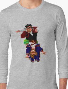 Largo LaGrande and Guybrush (Monkey Island 2) Long Sleeve T-Shirt