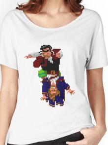 Largo LaGrande and Guybrush (Monkey Island 2) Women's Relaxed Fit T-Shirt