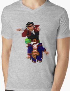 Largo LaGrande and Guybrush (Monkey Island 2) Mens V-Neck T-Shirt