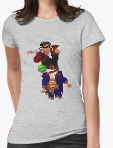 Largo LaGrande and Guybrush (Monkey Island 2) Womens Fitted T-Shirt