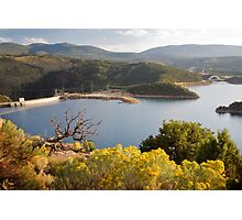 Flaming Gorge Dam Photographic Print