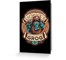 Ghost Pirate Grog Greeting Card