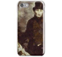 The Occultists by Pierre Blanchard iPhone Case/Skin