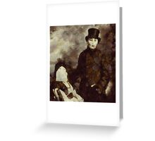 The Occultists by Pierre Blanchard Greeting Card