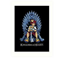 Kingdom of Hearts Art Print