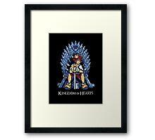Kingdom of Hearts Framed Print