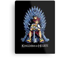 Kingdom of Hearts Metal Print