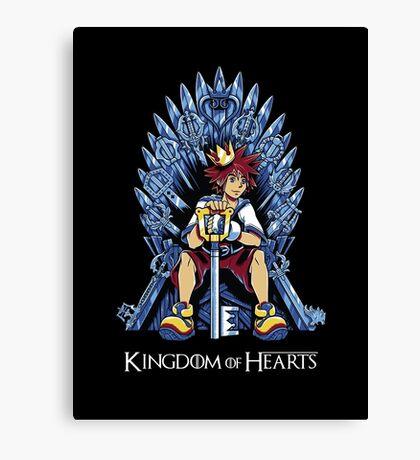Kingdom of Hearts Canvas Print