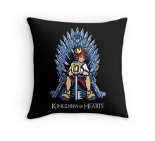Kingdom of Hearts Throw Pillow
