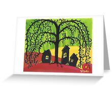 Weepy Willow Greeting Card