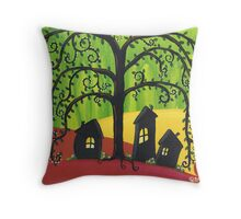 Weepy Willow Throw Pillow