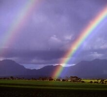 Rainbows at Stirling Range by Eve Parry