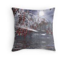 Blood Mangroves  Throw Pillow