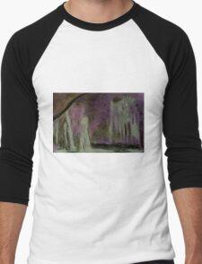 Waterfalls Through the Trees Men's Baseball ¾ T-Shirt