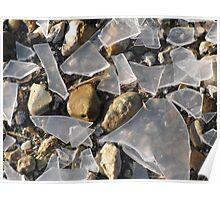 Shattered Dreams- Broken Glass Poster
