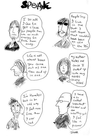 speak by Loui  Jover