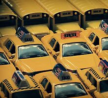 Yellow Taxi by Caroline Fournier