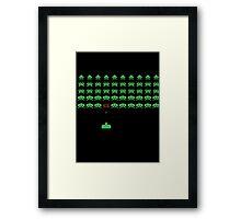 Space Invaders II Framed Print