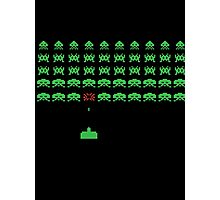 Space Invaders II Photographic Print