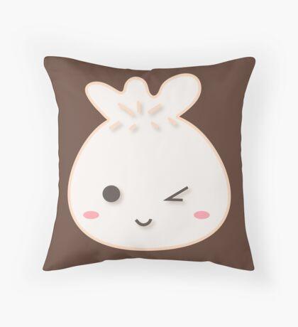 Dumpling-kun Throw Pillow