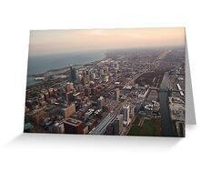 Southeast View of Chicago Greeting Card